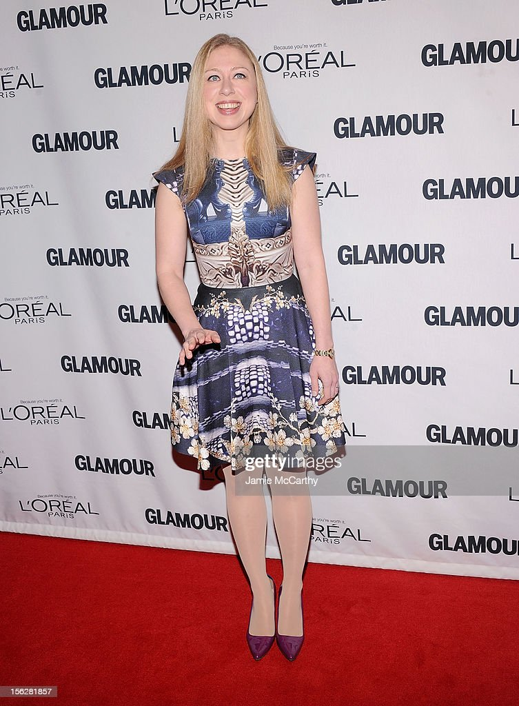 Chelsea Clinton attends the 22nd annual Glamour Women of the Year Awards at Carnegie Hall on November 12, 2012 in New York City.