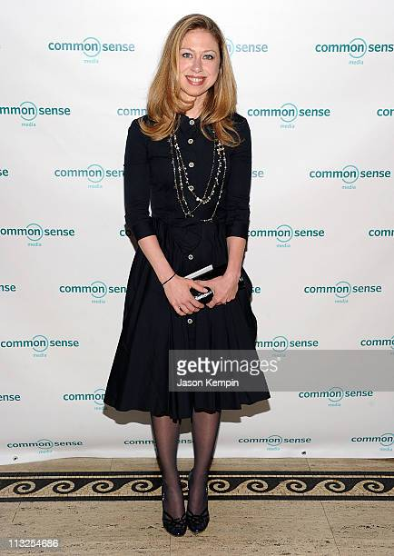 Chelsea Clinton attends the 7th Annual Common Sense Media Awards honoring Bill Clinton at Gotham Hall on April 28 2011 in New York City