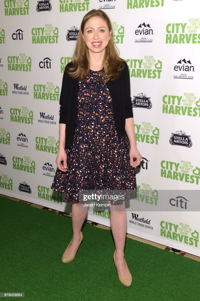 Chelsea Clinton attends the City Harvest's 23rd Annual Evening Of Practical Magic at Cipriani 42nd Street on April 25, 2017 in New York City.