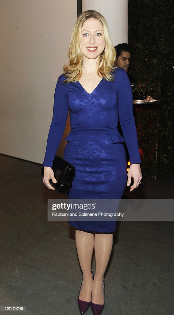 Chelsea Clinton attends The Museum of Modern Art 5th annual Film Benefit honoring Quentin Tarantino at MOMA on December 3, 2012 in New York City.