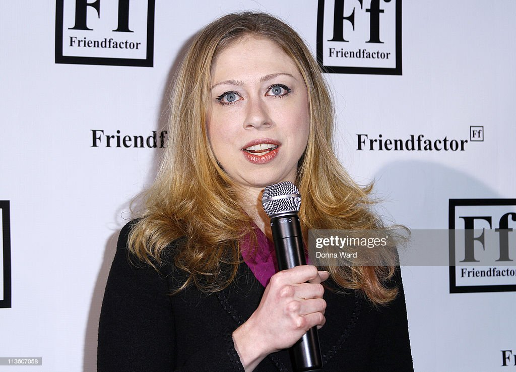 Chelsea Clinton attends the New York launch of Friendfactor at Lavo on May 3, 2011 in New York City.