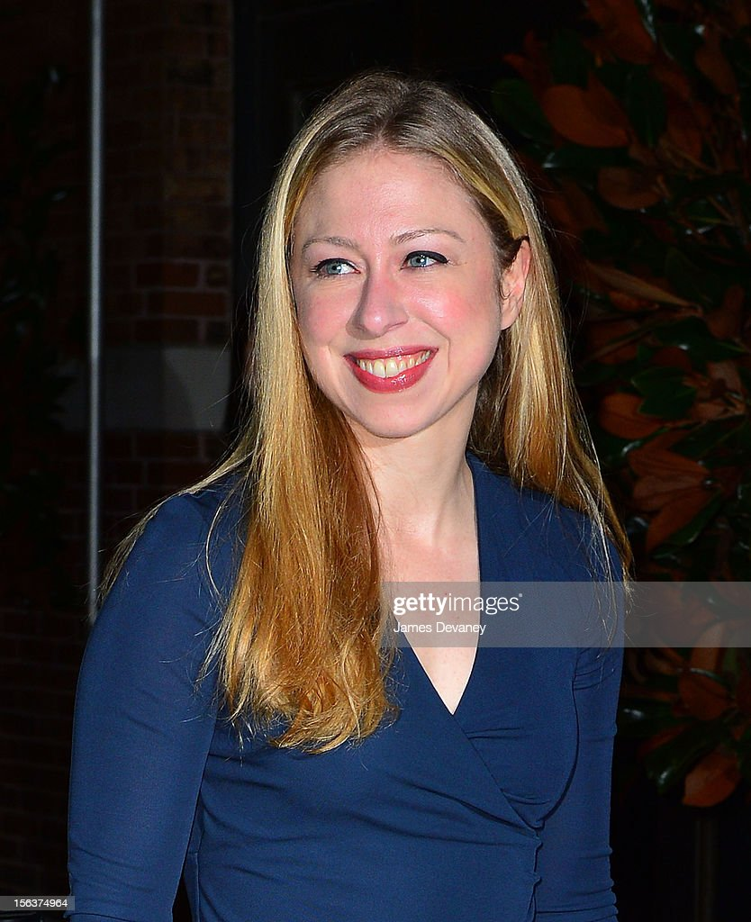 Chelsea Clinton attends The Ninth Annual CFDA/Vogue Fashion Fund Awards at 548 West 22nd Street on November 13, 2012 in New York City.