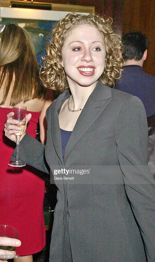 Chelsea Clinton attends the Old Vic Charity Gala at The Old Vic on November 19, 2001 in London.