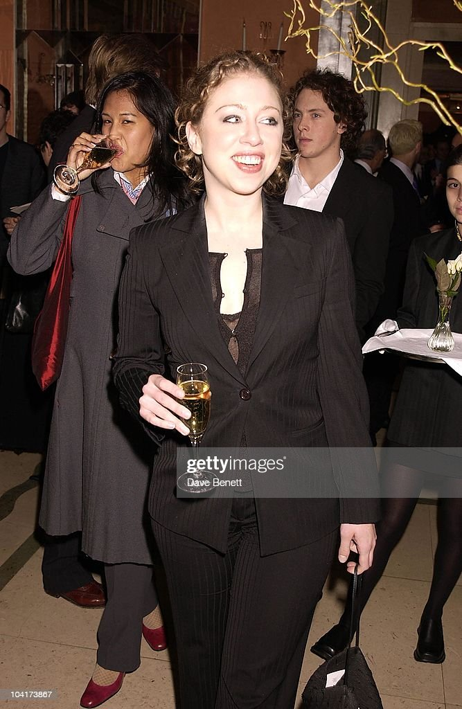 Chelsea Clinton, The Premiere Of Shipping News Was Followed By A Glamorous Party At Clarridges Hotel In London.