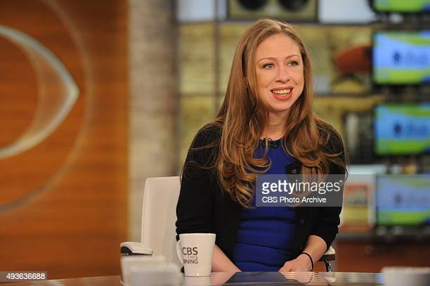 Chelsea Clinton Usher Ray Lewis visits CBS This Morning with Cohosts Charlie Rose Norah O'Donnell and Gayle King on Tuesday Oct 20 2015
