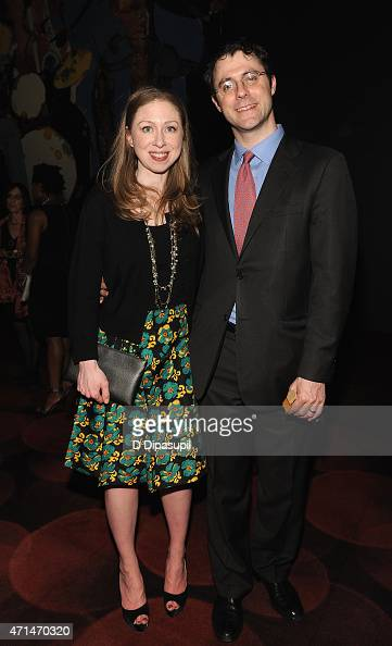 Chelsea Clinton Vice Chair of The Clinton Foundation and Marc Mezvinsky Executive at Eaglevale Partners LP attend 2015 Physicians For Human Rights...