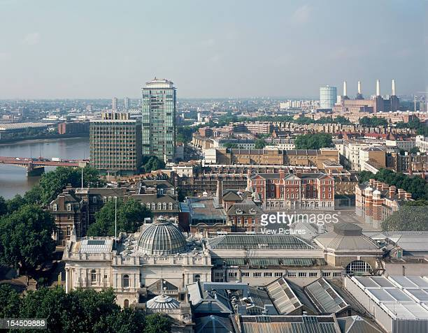 Chelsea College Of Art And Design London United Kingdom Architect Allies And Morrison Chelsea College Of Art And Design Arial View With Millbank Tower