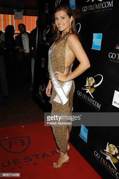 Chelsea Cooley attends Joonbug hosts the launch of GoTrumpcom sponsored by Blue Star Jets at Marquee NYC USA on January 24 2006