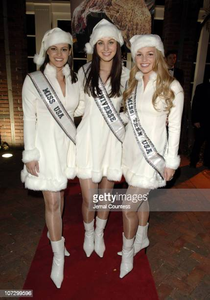 Chelsea Cooley Miss USA 2005 Natalia Glebova Miss Universe 2005 and Allie LaForce Miss Teen USA 2005