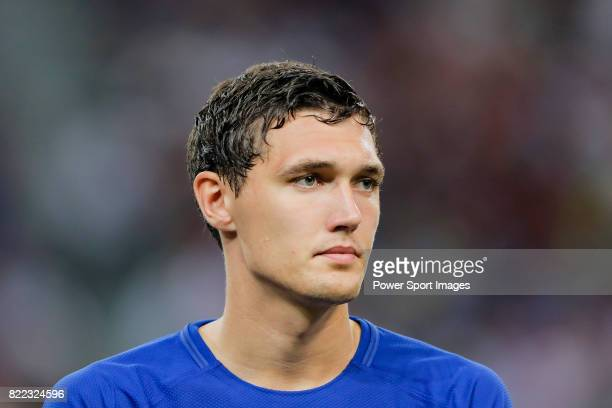 Chelsea Defender Andreas Christensen during the International Champions Cup match between Chelsea FC and FC Bayern Munich at National Stadium on July...