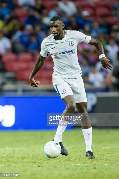 Chelsea Defender Antonio Rudiger in action during the International Champions Cup 2017 match between FC Internazionale and Chelsea FC on July 29 2017...