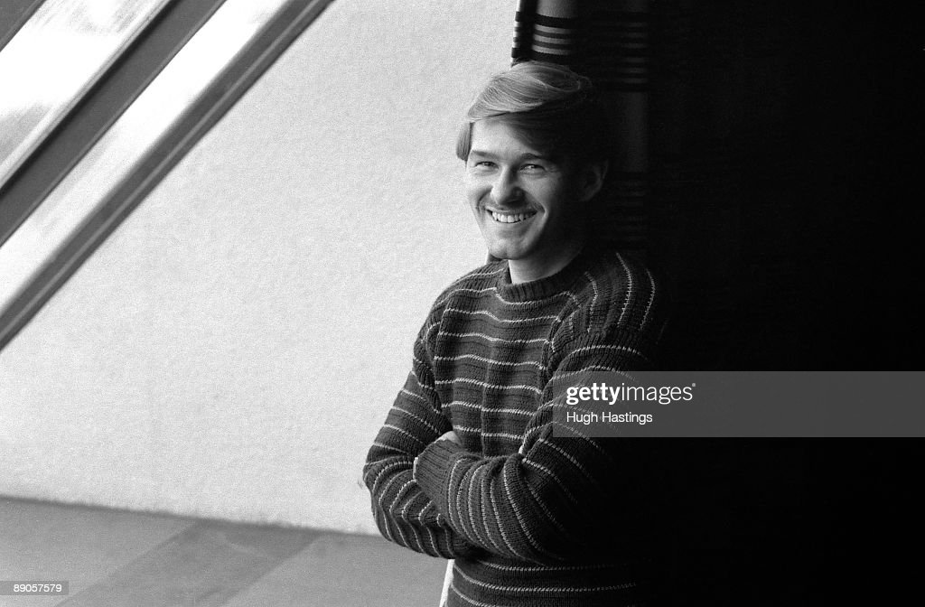 Chelsea FC player Chris Hutchings poses for a picture in 1981 at Stamford Bridge, in London.