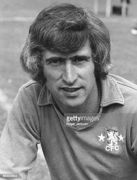 Chelsea FC player Peter Bonetti August 1974