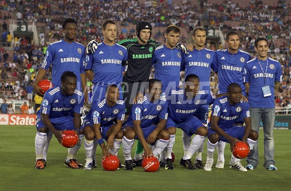 Chelsea Fc Players Attend Chelsea Fc And Inter Milan Soccer Match Wireimage 89170590