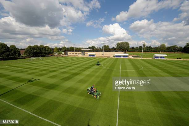 Chelsea FC's New Academy and Community Pavilion at the Chelsea FC Training ground in Cobham England on August 07 2008
