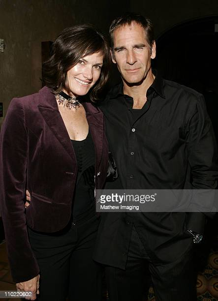 Chelsea Field and Scott Bakula during 'Star Trek Enterprise' Cast and Crew Gather to Celebrate the Series Finale at Hollywood Roosevelt Hotel in...