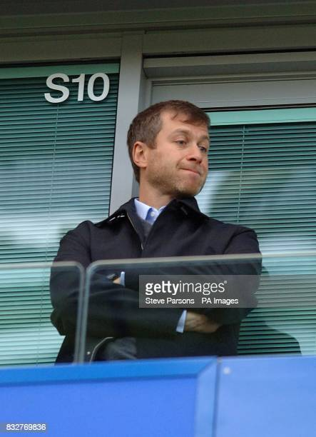 Chelsea football club owner Roman Abramovich
