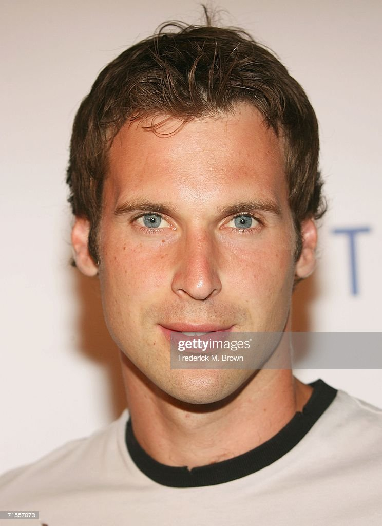 Chelsea football player Petr Cech attends the 'Hit The Ground Running Party' at the SkyBar in the Mondrian Hotel on July 31, 2006 in West Hollywood, California.