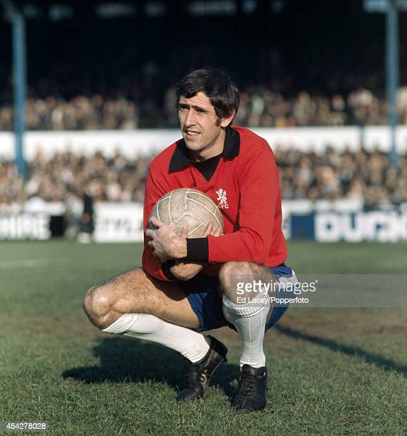Chelsea goalkeeper Peter Bonetti prior to the Division One football match against Coventry City at Stamford Bridge in London on 1st November 1969...