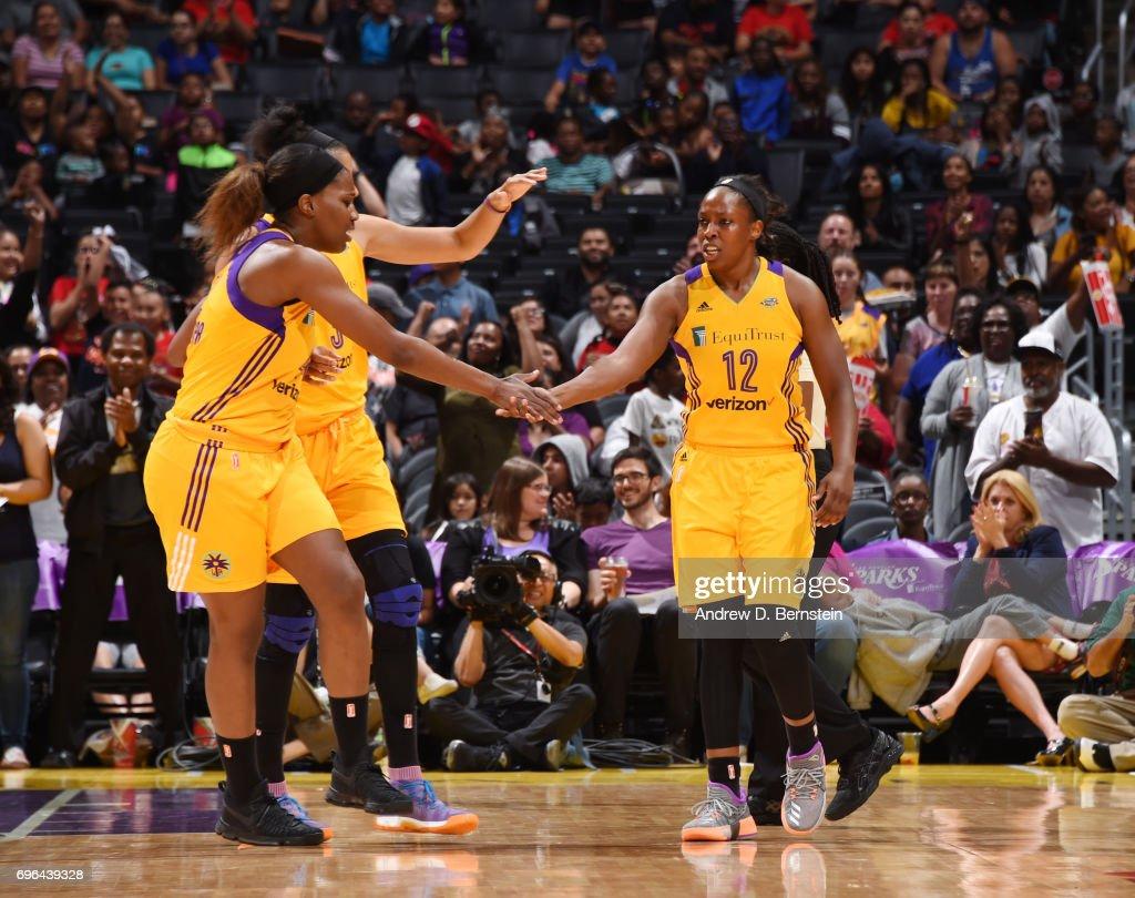 San Antonio Stars v Los Angeles Sparks