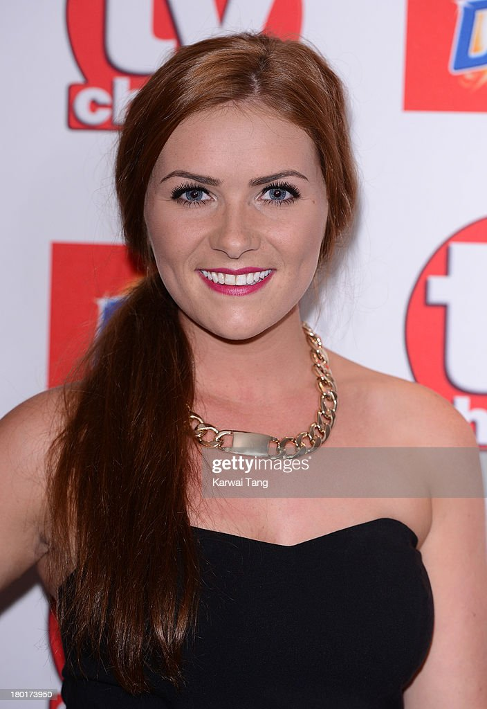 Chelsea Halfpenny attends the TV Choice Awards 2013 at The Dorchester on September 9, 2013 in London, England.