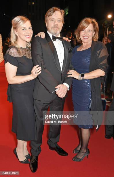 Chelsea Hamill Mark Hamill and Marilou York attend the GQ Men Of The Year Awards at the Tate Modern on September 5 2017 in London England