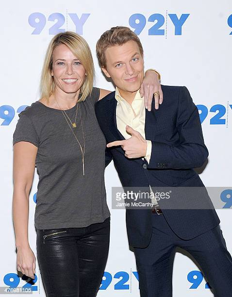Chelsea Handler and Ronan Farrow attend the '92nd Street Y Presents An Evening With Chelsea Handler And Ronan Farrow' at 92nd Street Y on March 4...