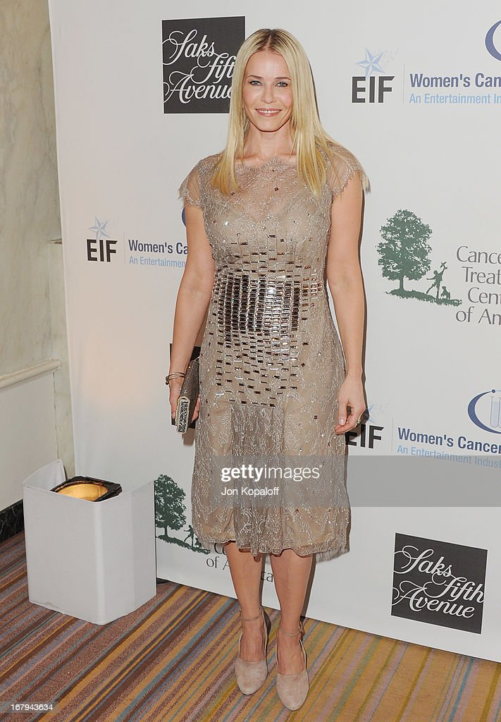 Chelsea Handler arrives at An Unforgettable Evening benefiting EIF's Women's Cancer Research Fund at the Beverly Wilshire Four Seasons Hotel on May 2, 2013 in Beverly Hills, California.