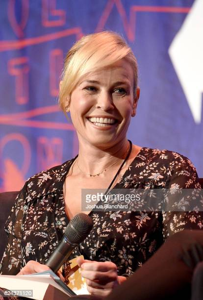 Chelsea Handler at 'Chelsea Handler in Conversation with Tomi Lahren' panel during Politicon at Pasadena Convention Center on July 29 2017 in...