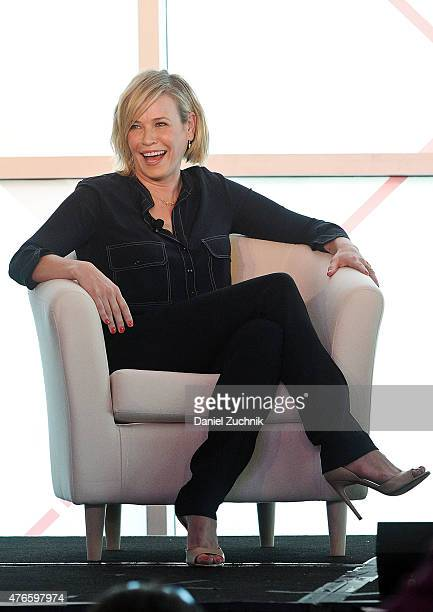 Chelsea Handler attends the 2015 Forbes Women's Summit Transforming the Rules of Engagement at Pier 60 on June 10 2015 in New York City