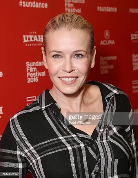 Chelsea Handler attends the 2016 Sundance Film Festival Premiere of Netflix's 'Chelsea Does' on January 22 2016 in Park City Utah