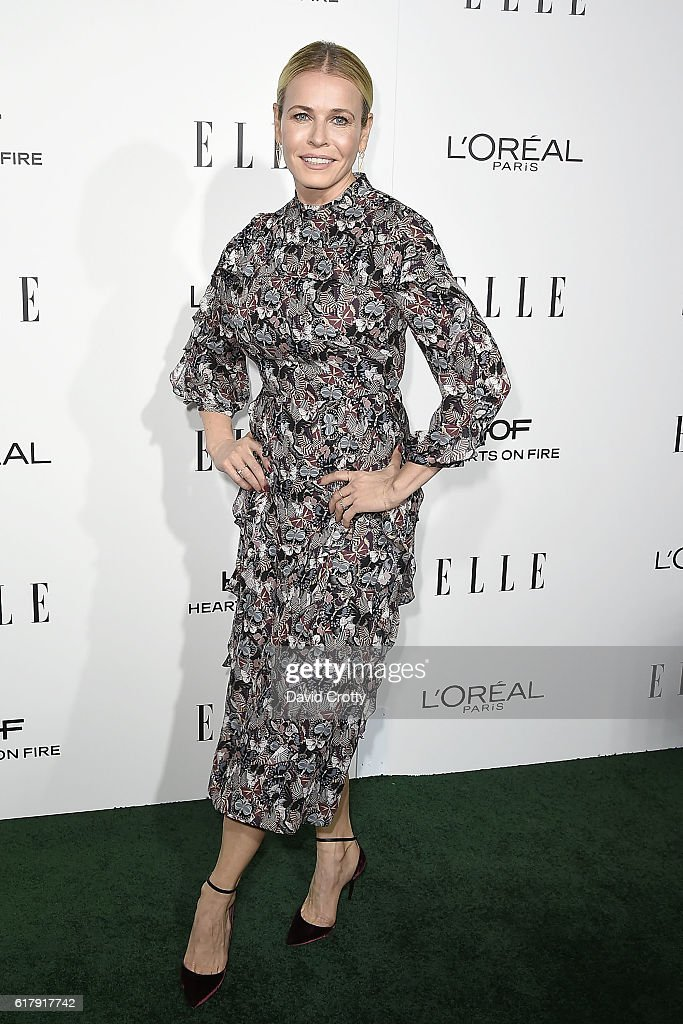 Chelsea Handler attends the 23rd Annual ELLE Women In Hollywood Awards - Arrivals at The Four Seasons Hotel on October 24, 2016 in Beverly Hills, California.