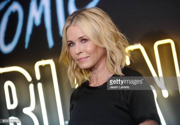 Chelsea Handler attends the premiere of 'Atomic Blonde' at The Theatre at Ace Hotel on July 24 2017 in Los Angeles California