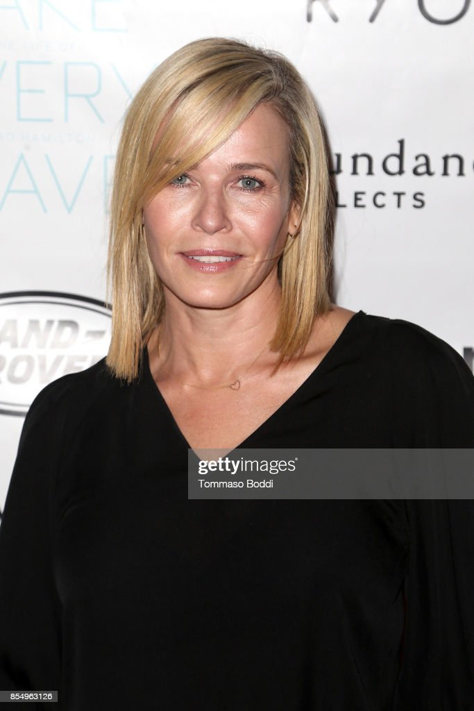 Chelsea Handler attends the Premiere of Sundance Selects' 'Take Every Wave: The Life Of Laird Hamilton' at ArcLight Hollywood on September 27, 2017 in Hollywood, California.