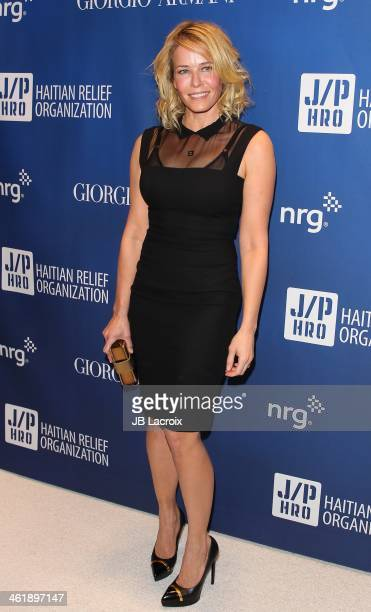 Chelsea Handler attends the Sean Penn 3rd Annual Help Haiti Home Gala Benefiting J/P HRO Presented By Giorgio Armani at Montage Beverly Hills on...
