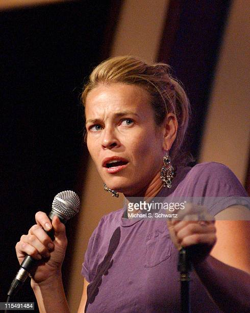 Chelsea Handler during Chelsea Handler Author of 'My Horizontal Life' Performs at The Laugh Factory November 30 2005 at The Laugh Factory in...