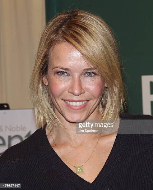 Chelsea Handler promotes the new book 'Uganda Be Kidding Me' at Barnes Noble 5th Avenue on March 4 2014 in New York City