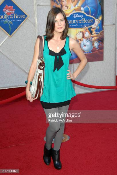 Chelsea Hobbs attends WALT DISNEY STUDIOS HOME ENTERTAINMENT HOSTS A SINGALONG PREMIERE OF BEAUTY AND THE BEAST at El Capitan Theatre on October 2...