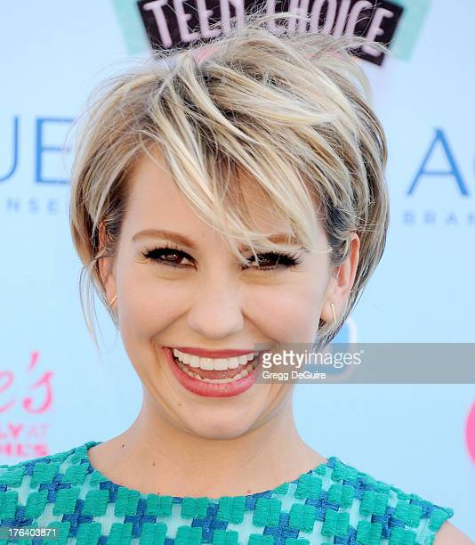 Chelsea Kane arrives at the 2013 Teen Choice Awards at Gibson Amphitheatre on August 11 2013 in Universal City California