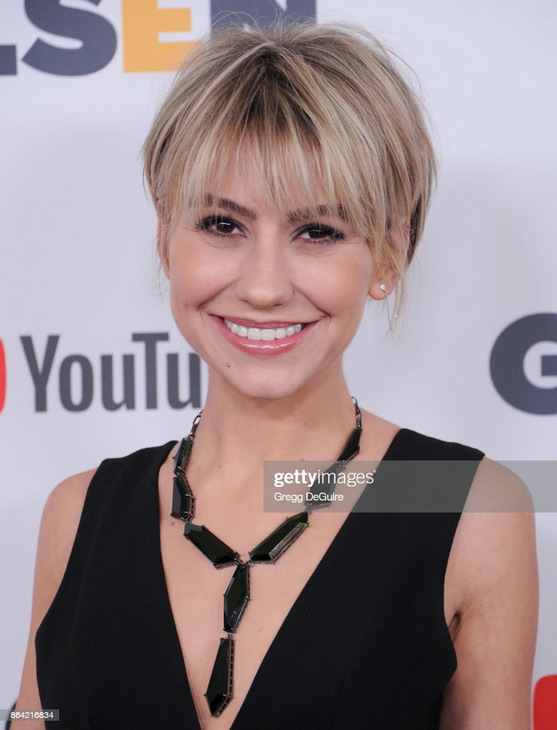 Chelsea Kane arrives at the 2017 GLSEN Respect Awards at the Beverly Wilshire Four Seasons Hotel on October 20, 2017 in Beverly Hills, California.