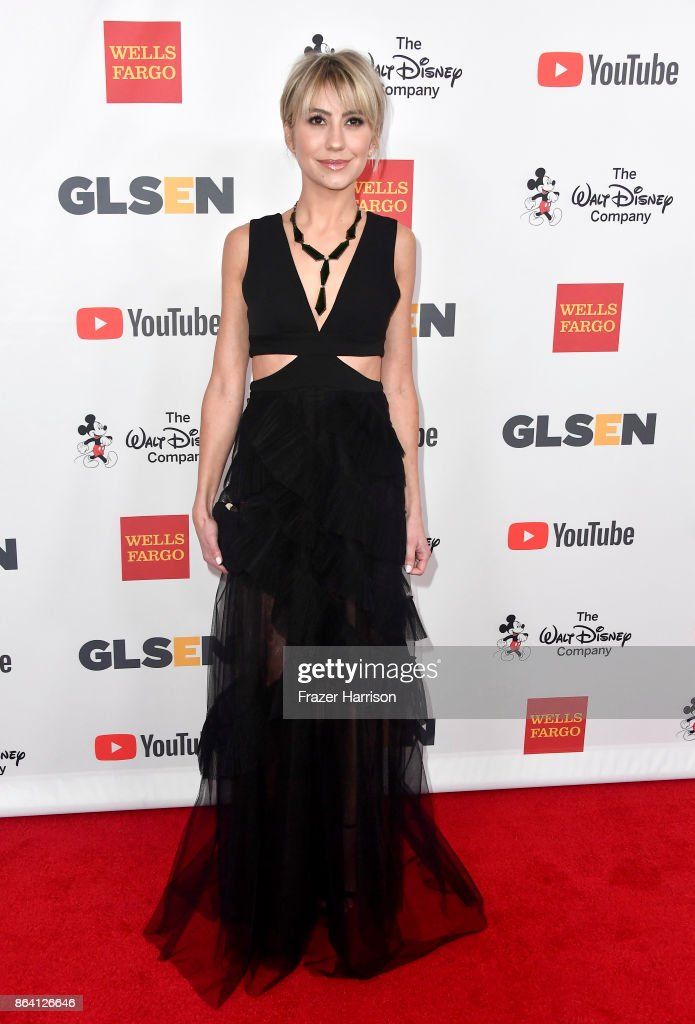Chelsea Kane at the 2017 GLSEN Respect Awards at the Beverly Wilshire Hotel on October 20, 2017 in Los Angeles, California.