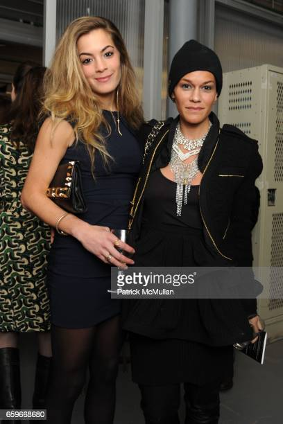Chelsea Leyland and Jenne Lombardo attend NEW YORK ACADEMY OF ART TriBeCa Ball at New York Academy of Art on March 2 2009 in New York City