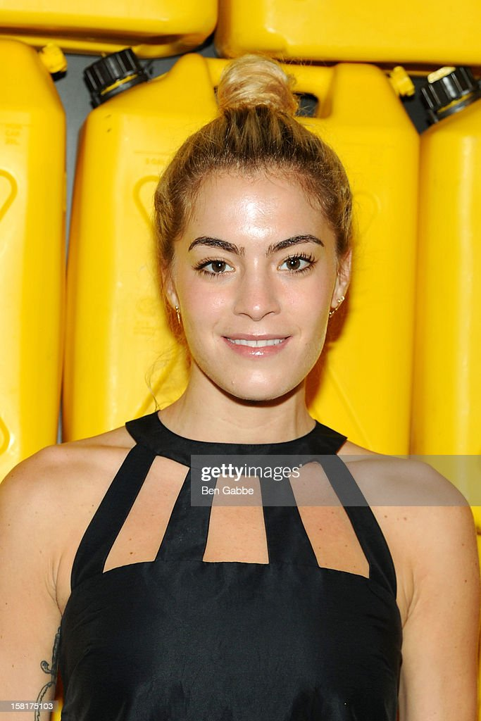Chelsea Leyland attend 7th Annual Charity Ball Benefiting Charity:Water at the 69th Regiment Armory on December 10, 2012 in New York City.