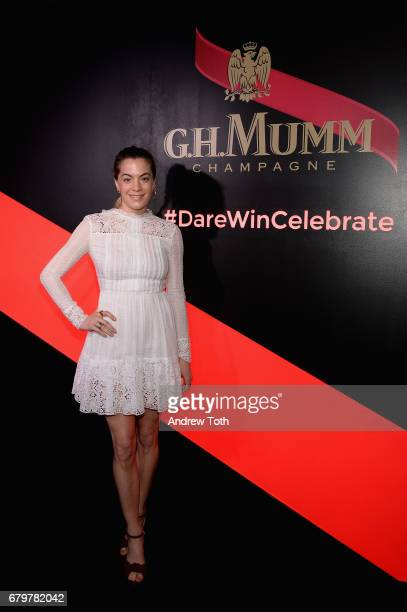 Chelsea Leyland attends GH Mumm and Usain Bolt's Toast to the Kentucky Derby on May 6 2017 in New York City