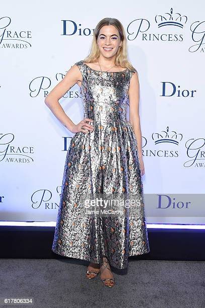 Chelsea Leyland attends the 2016 Princess Grace awards gala at Cipriani 25 Broadway on October 24 2016 in New York City
