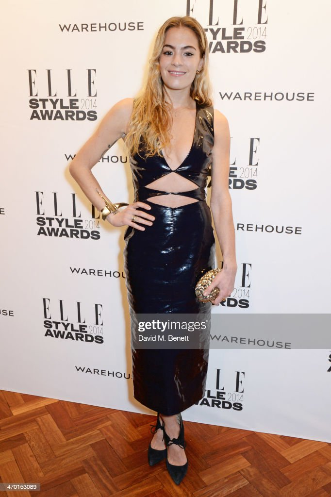 Chelsea Leyland attends the Elle Style Awards 2014 at One Embankment on February 18, 2014 in London, England.