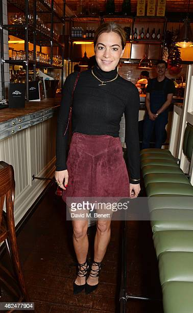 Chelsea Leyland attends the launch of new restaurant West Thirty Six on January 29 2015 in London England