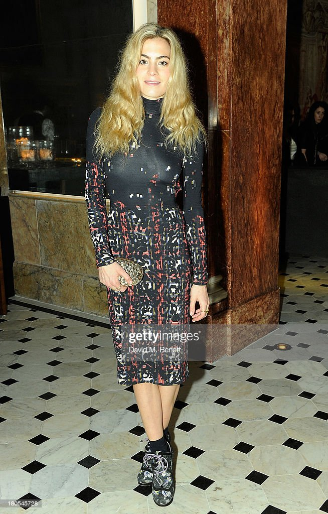 Chelsea Leyland attends The London Edition opening celebrating the September issue of W Magazine at The London Edition Hotel on September 14, 2013 in London, England.