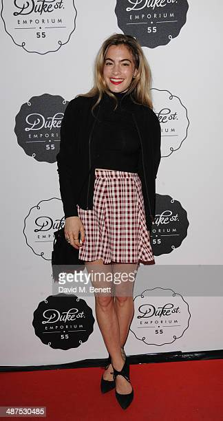 Chelsea Leyland attends the new concept store 'The Duke Street Emporium' launched by The Jigsaw Group on April 30 2014 in London England