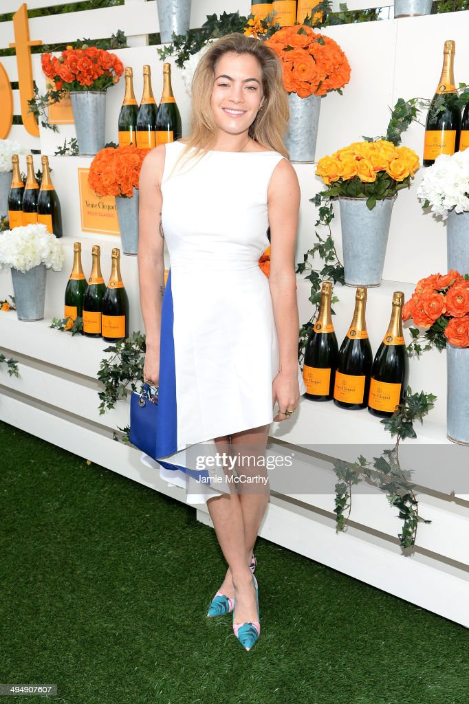 Chelsea Leyland attends the seventh annual Veuve Clicquot Polo Classic in Liberty State Park on May 31, 2014 in Jersey City City.